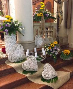 Fiori per matrimonio a Marostica Vicenza